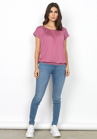 soyaconcept Kurzarmshirt »SC-MARICA4«, in frischen Farben kaufen