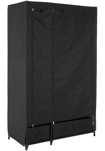 Kleiderschrank »aus Vlies«, Breite 110 cm, mit acht Ablagen als Stauraum und einer Garderobenstange kaufen