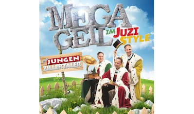 Musik-CD »MEGAGEIL im JUZI-Style / jungen Zillertaler,Die« kaufen