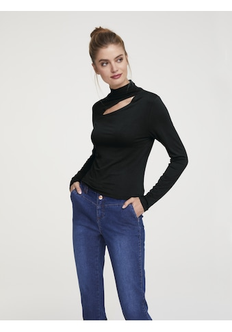 Langarmshirt mit Cut - Out kaufen