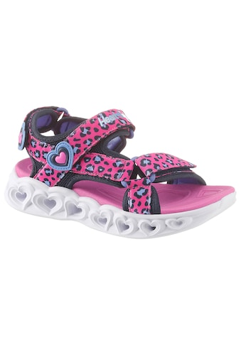 Skechers Kids Sandale »Blinkschuh Heart Lights Sandals«, mit cooler Blinkfunktion kaufen