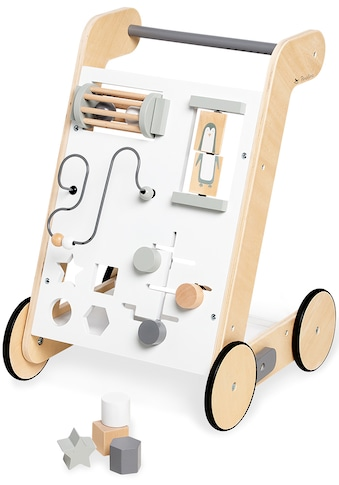 Pinolino® Lauflernwagen »Tino, weiß«, FSC®-Holz aus gewissenhaft bewirtschafteten Wäldern kaufen