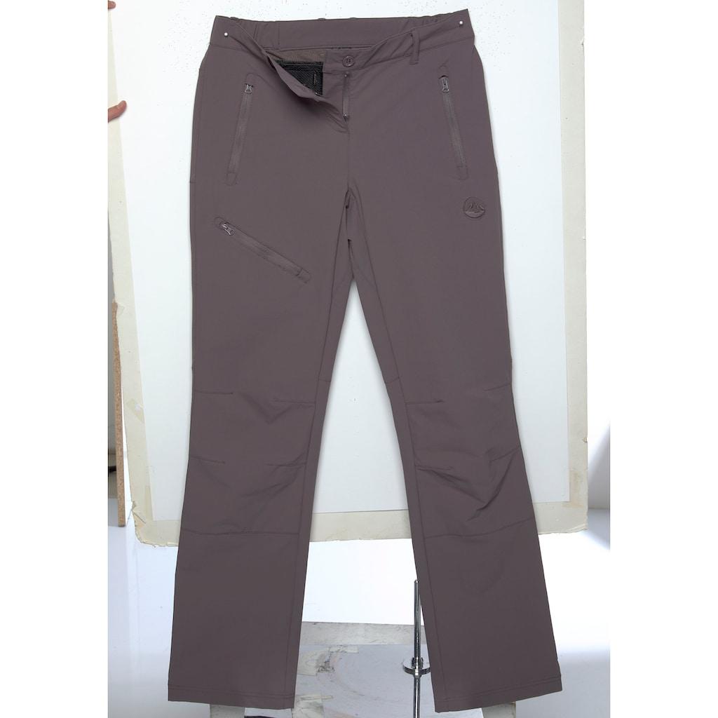 Polarino Funktionshose, mit Reißverschlusstaschen
