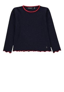 18129de567 Marc O'Polo Junior Pullover Feinstrick farblich abgesetzt kaufen