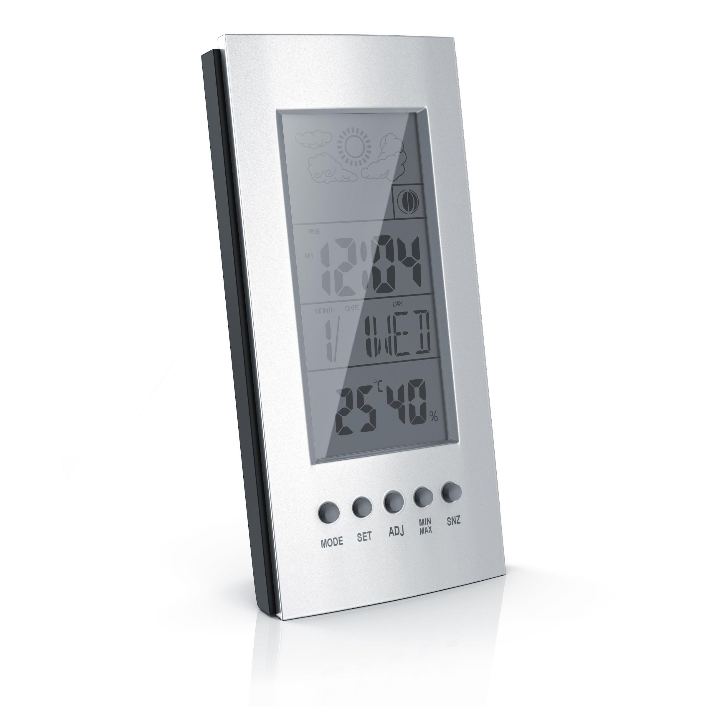 Innenbereich Mini Digital LCD Thermometer Hygrometer Feuchtigkeit Temperatur Met