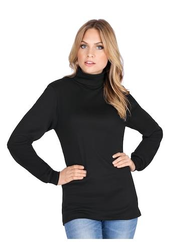 Trigema Langarm Ski/ Sportrollkragenpullover kaufen