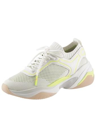 Tamaris Slip-On Sneaker, mit neonfarbenen Details kaufen