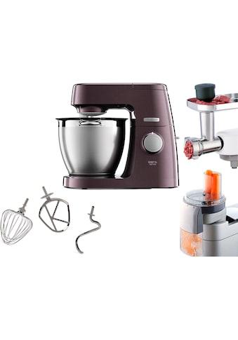 KENWOOD Küchenmaschine Chef XL Sense Special Edition KQL 6300Z, Gratiszubehörpaket KAM573ME (Schnitzelwerk+Fleischwolf), 1400 Watt, Schüssel 6,7 Liter kaufen