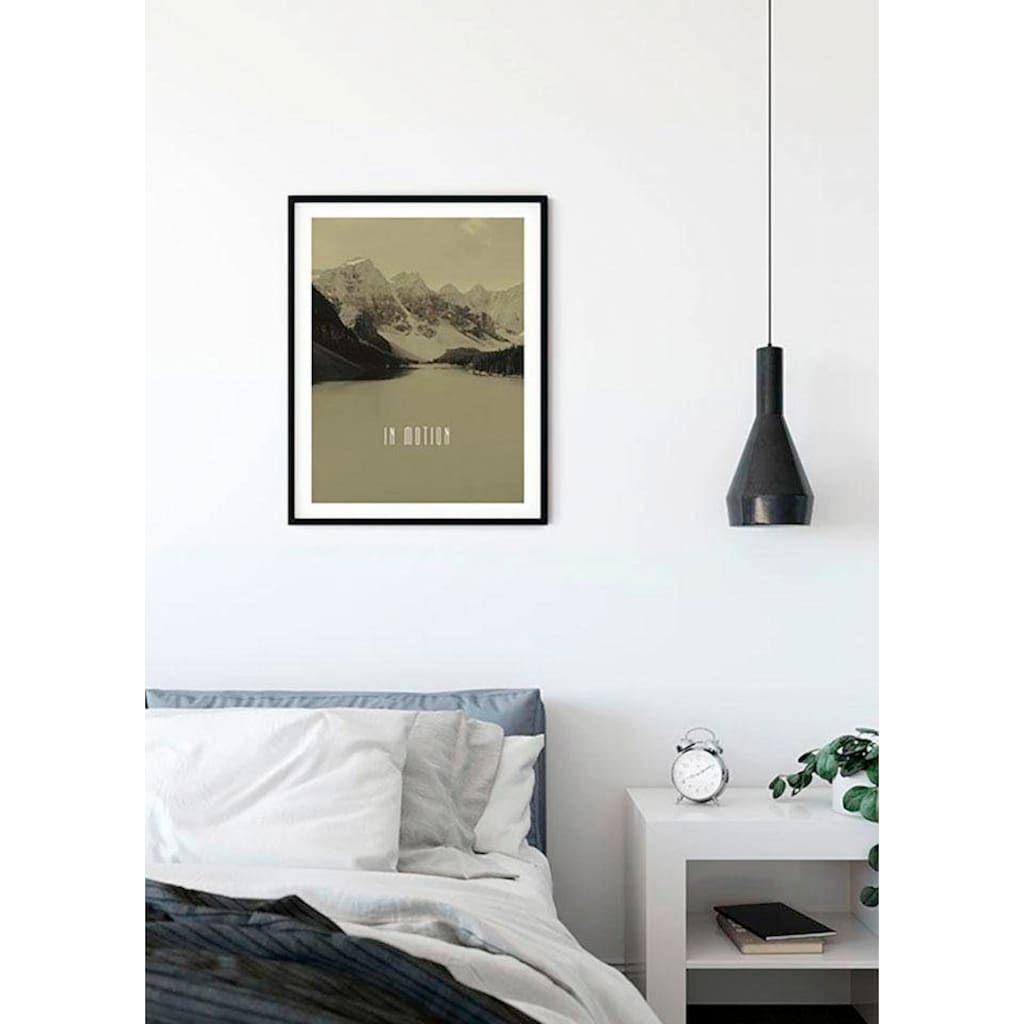 Komar Poster »Word Lake In Motion Sand«, Natur, Höhe: 40cm