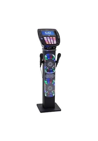 Auna Karaoke Maschine Bluetooth LED USB Lautsprecher mit 2 Mikros kaufen