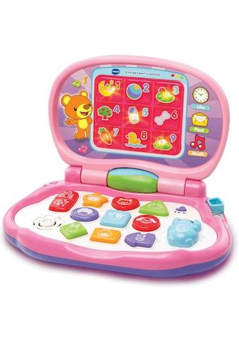 Vtech® Kindercomputer »Entdecker Laptop, pink« kaufen