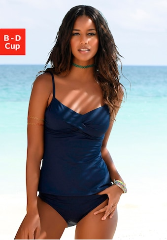 s.Oliver Beachwear Bügel-Tankini-Top »Spain«, mit Wickeloptik kaufen