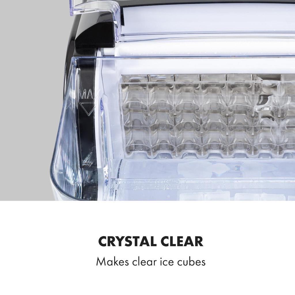 Klarstein Eiswürfelmaschine Kristalleis 2 Größen 2,5 Liter