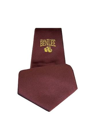 Benlee Rocky Marciano Krawatte mit schickem Marken-Logo kaufen