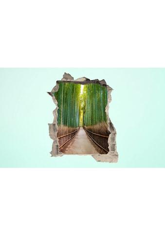 Conni Oberkircher´s Wandsticker »3 D Sticker Beton Bamboo Trees« kaufen