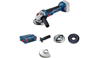 Bosch Professional Akku-Winkelschleifer »GWS 18V-10 Professional«, mit verbesserter Leistungsfähigkeit und Werkzeugführung kaufen