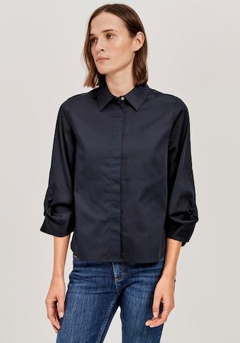 OPUS Klassische Bluse »Falissa«, mit Knoten-Detail am Ärmel kaufen