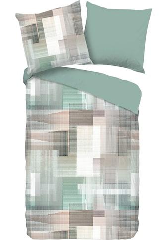 good morning Wendebettwäsche »Emmy«, mit abstraktem Print kaufen