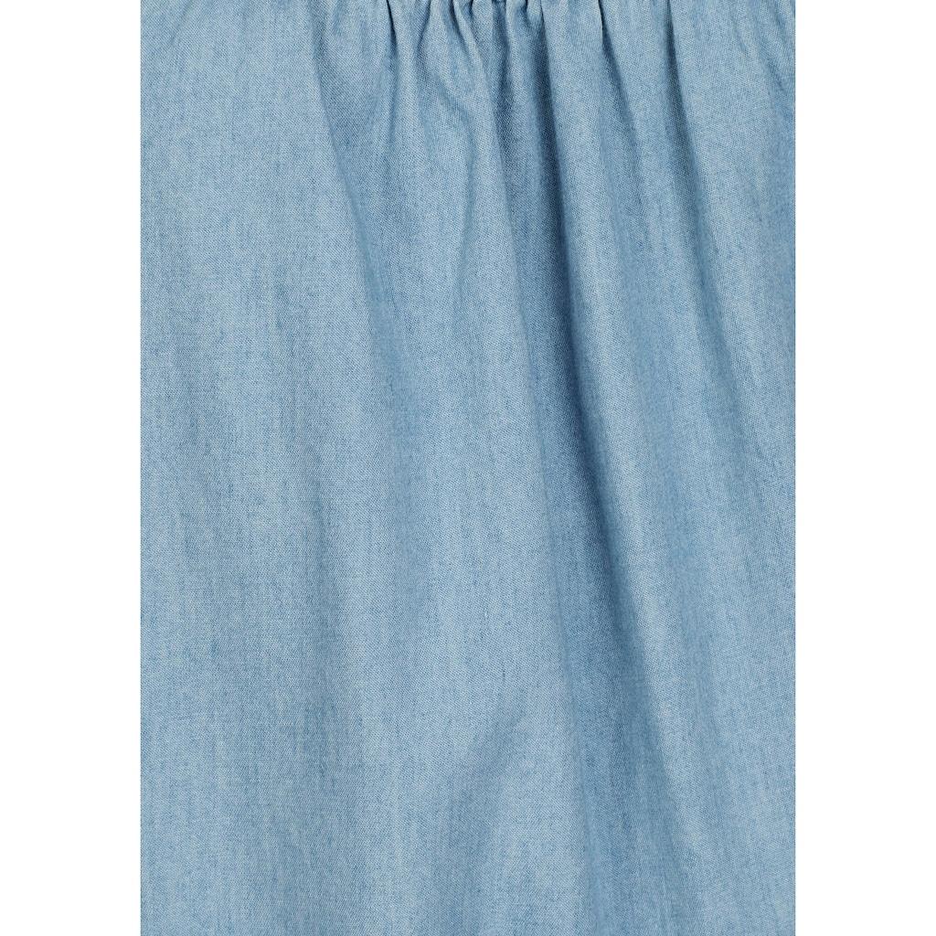 KangaROOS Jeanskleid, im sportlich-lässigem Stil