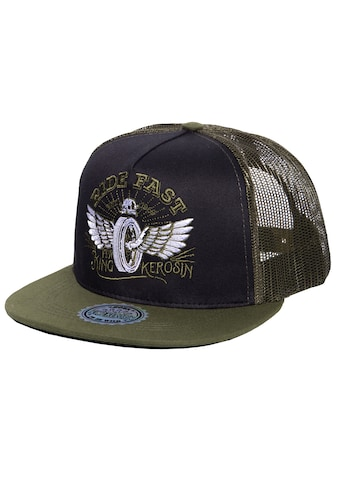 KingKerosin Baseball Cap »Ride Fast«, mit Netzeinsatz kaufen