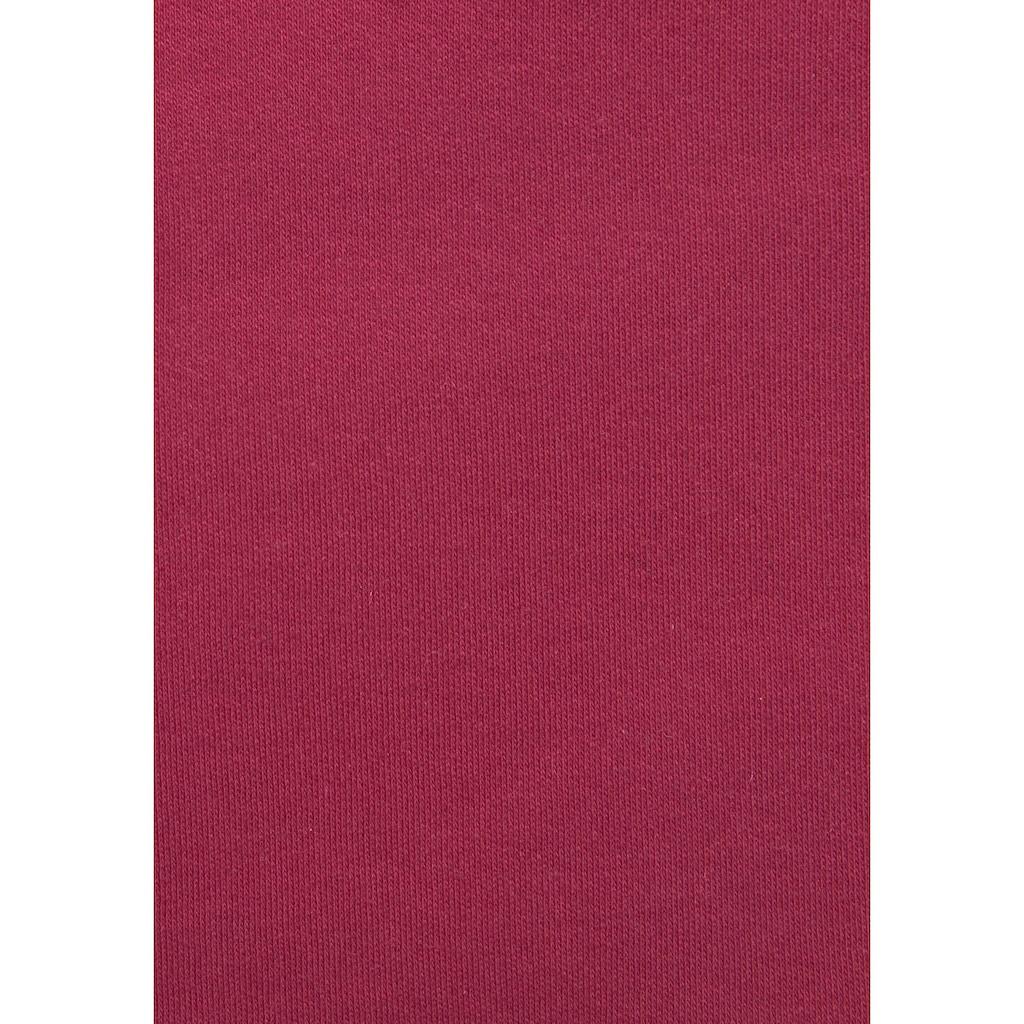 s.Oliver Bodywear Sweatkleid, mit besetzter Kängurutasche