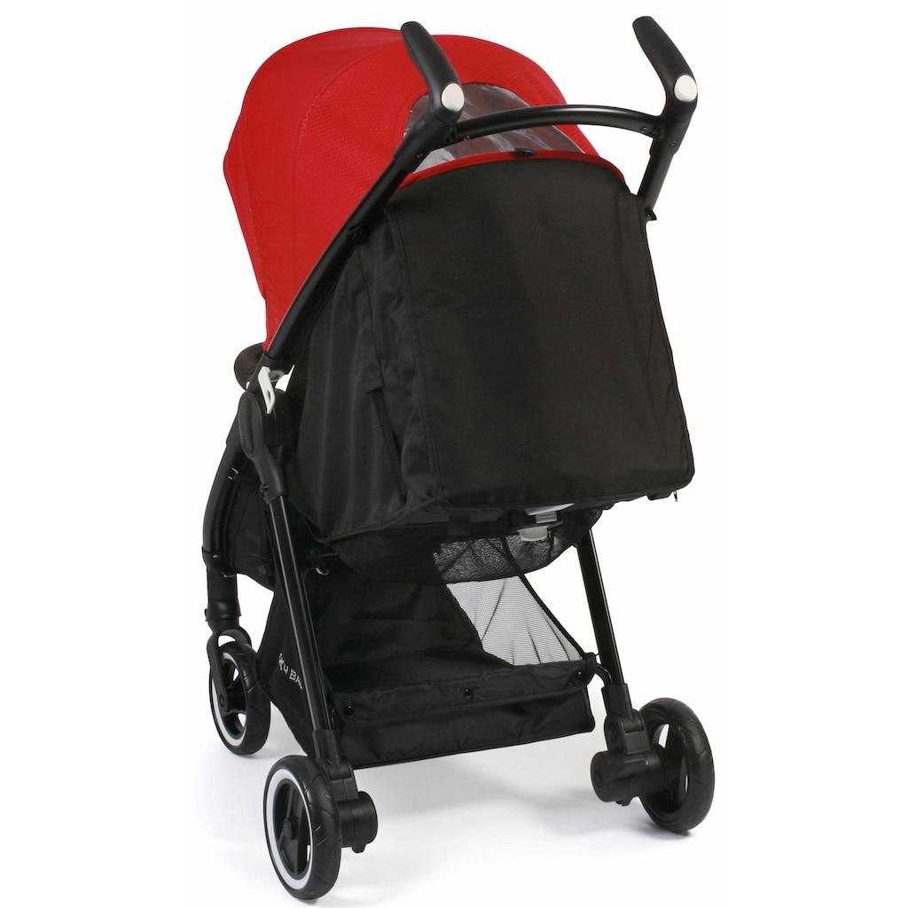 CHIC4BABY Sport-Kinderwagen »Robbie, rot«, mit schwenk- und feststellbaren Vorderrädern