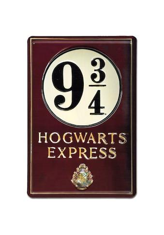 LOGOSHIRT Blechschild mit detailliertem Harry-Potter-Motiv kaufen