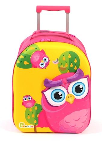 CHIC2000 Kinderkoffer »Boucie, Eule«, 2 Rollen, Weichgepäck-Trolley kaufen