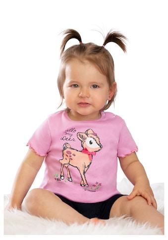 Trigema Baby-T-Shirt mit süßem Druckmotiv kaufen