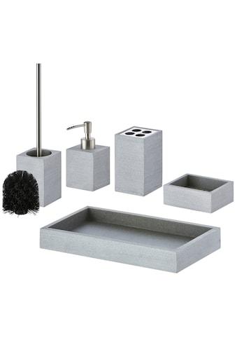 welltime Badaccessoires-Sets »Alva«, inkl. Ersatzbürstenkopf für WC-Bürste kaufen