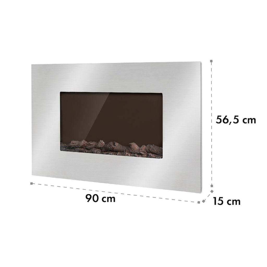 Klarstein Elektrischer Kamin 2000W 2 Heizstufen 90 cm