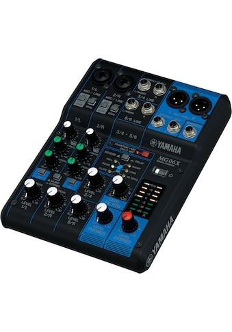 Yamaha Mischpult »Mixing Console MG06X«, 6-Kanal kaufen