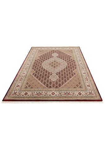 DELAVITA Orientteppich »Irrfan«, rechteckig, 12 mm Höhe, handgeknüpft, mit Fransen,... kaufen