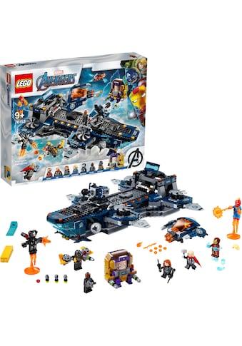"LEGO® Konstruktionsspielsteine ""Avengers Helicarrier (76153), LEGO® Marvel Super Heroes™"", Kunststoff, (1244 - tlg.) kaufen"