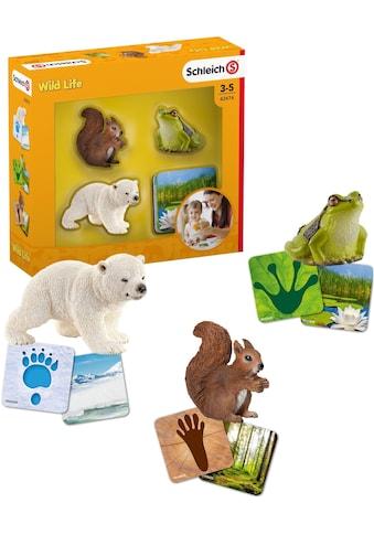 """Schleich® Spielfigur """"Wild Life, Lernkarten (42474)"""", (Set) kaufen"""
