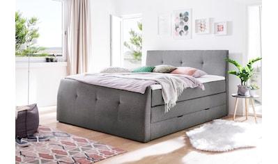 meise.möbel Boxspringbett, mit Bettkasten und Topper kaufen