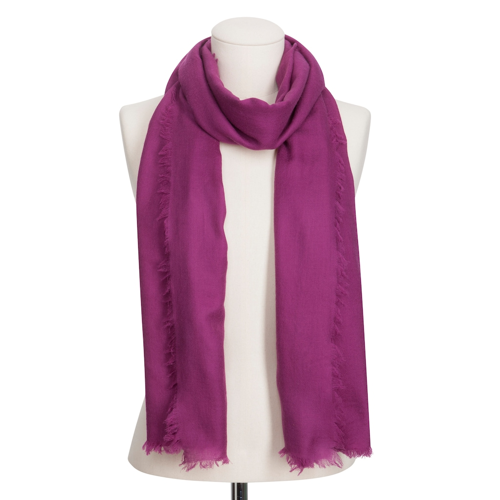 """Codello XL-Schal,Basics"""" aus reiner Wolle"""