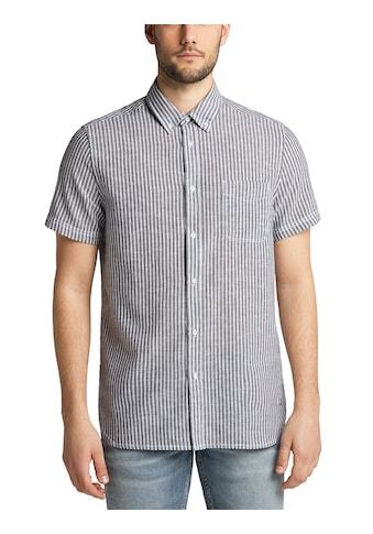 MUSTANG Langarmhemd »Collin Linen blend« kaufen