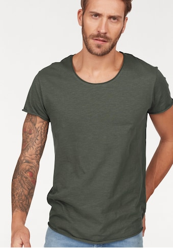 Jack & Jones T-Shirt »JJEBAS TEE U-NECK NOOS« kaufen