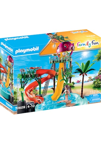 Playmobil® Konstruktions-Spielset »Aqua Park mit Rutschen (70609), Family Fun«, Made... kaufen