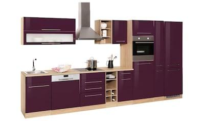 HELD MÖBEL Küchenzeile »Eton«, ohne E - Geräte, Breite 390 cm kaufen
