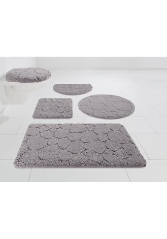 my home Badematte »Steine«, Höhe 20 mm, strapazierfähig, 3-D Optik kaufen