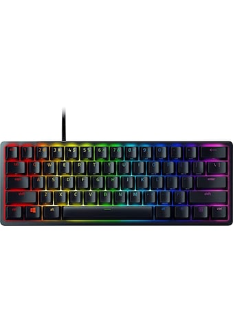 RAZER Gaming-Tastatur »Huntsman Mini - Klickend optischer Switch (Lila) - DE -... kaufen