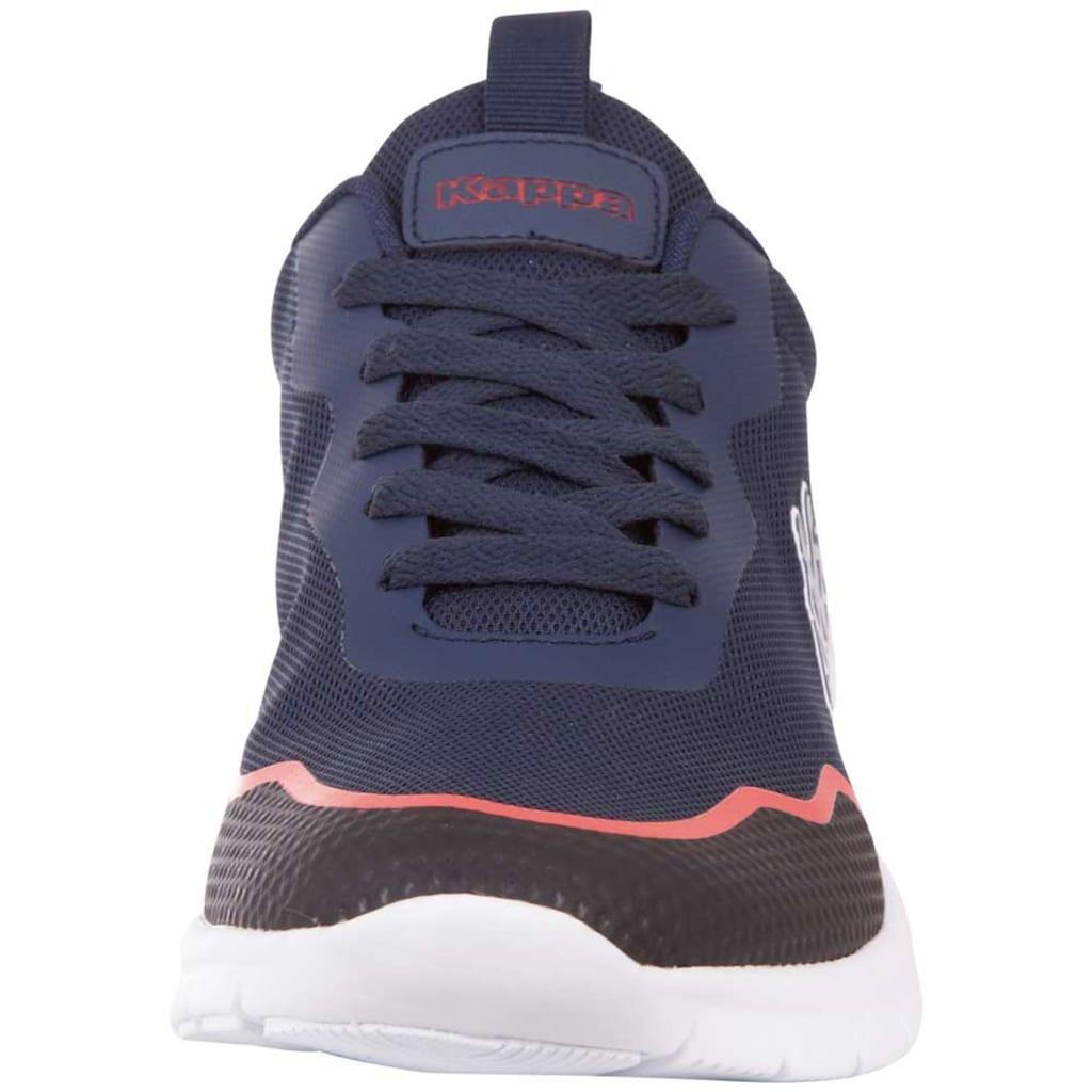 Kappa Sneaker »CANBERRA«, besonders atmungsaktiv dank hohem Mesh-Anteil<br />