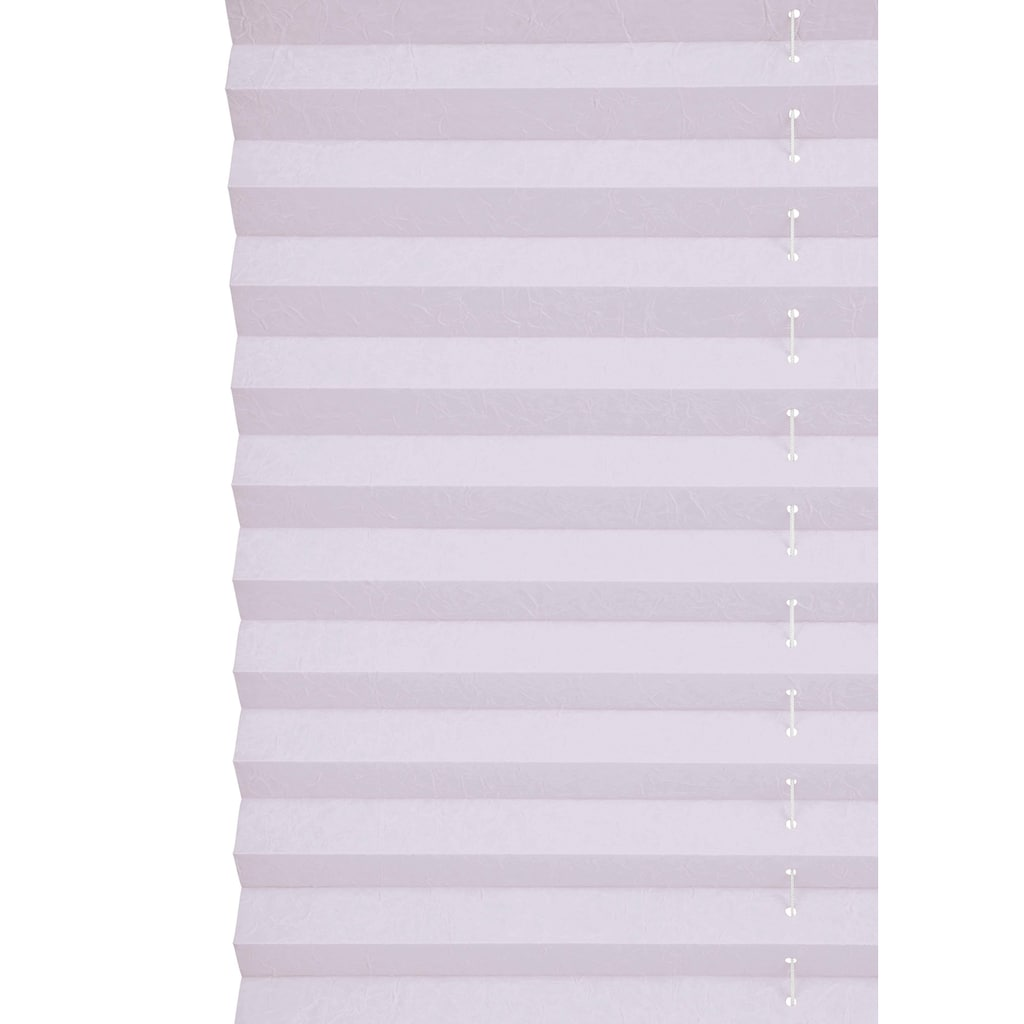 my home Plissee »DAHRA«, im Fixmaß, Crushed-Optik, über 1.700 positive Bewertungen