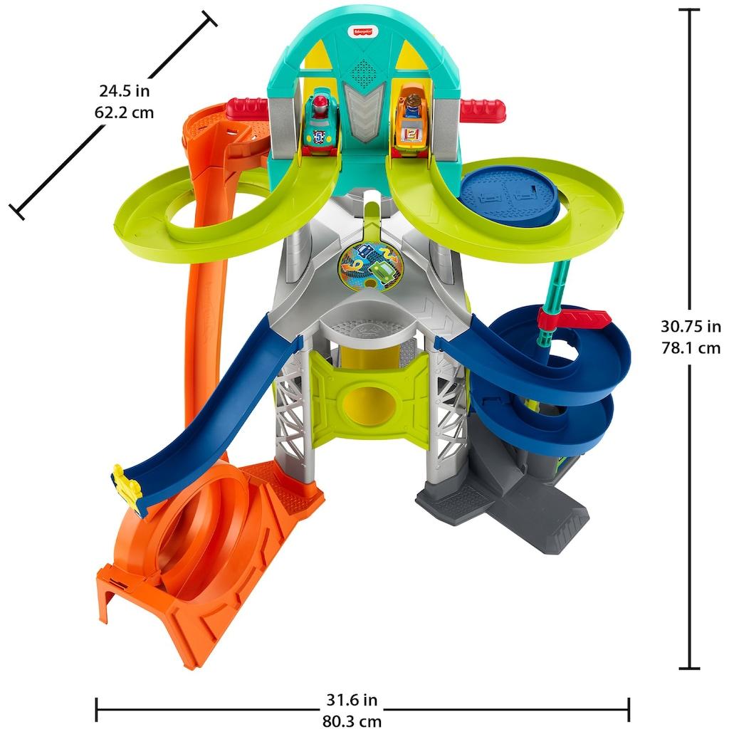 Fisher-Price® Autorennbahn »Little People Action Rennbahn«, mit Licht & Sound