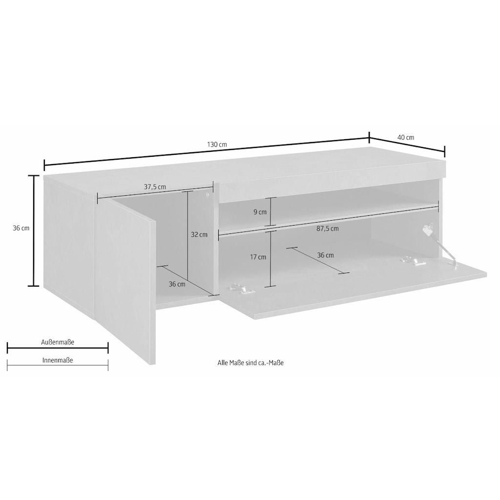 Tecnos Lowboard, Breite 130 cm