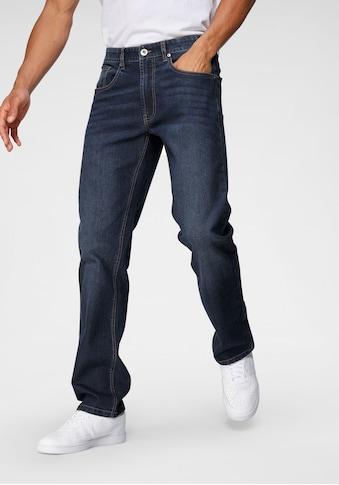 John Devin Straight-Jeans, mit leichter Waschung kaufen