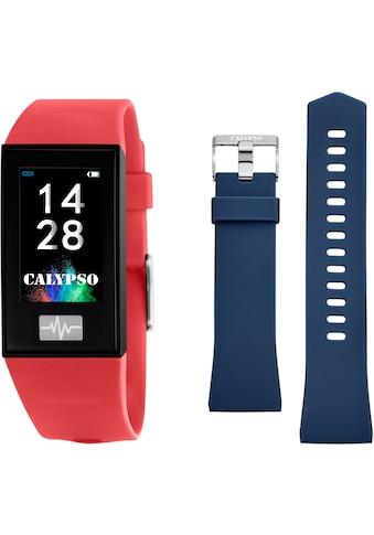 CALYPSO WATCHES Smartwatch »Smartime, K8500/4«, ( mit blauem Wechselband) kaufen
