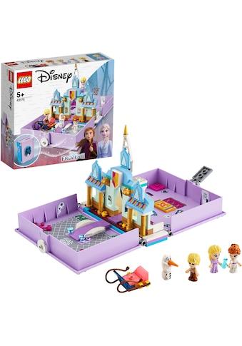 """LEGO® Konstruktionsspielsteine """"Annas und Elsas Märchenbuch (43175), LEGO® Disney Princess™"""", Kunststoff, (133 - tlg.) kaufen"""